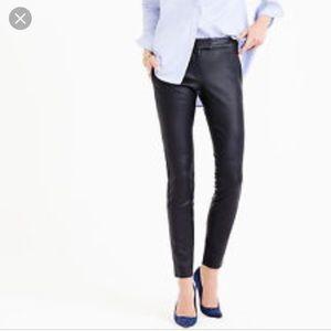 Jcrew leather pants